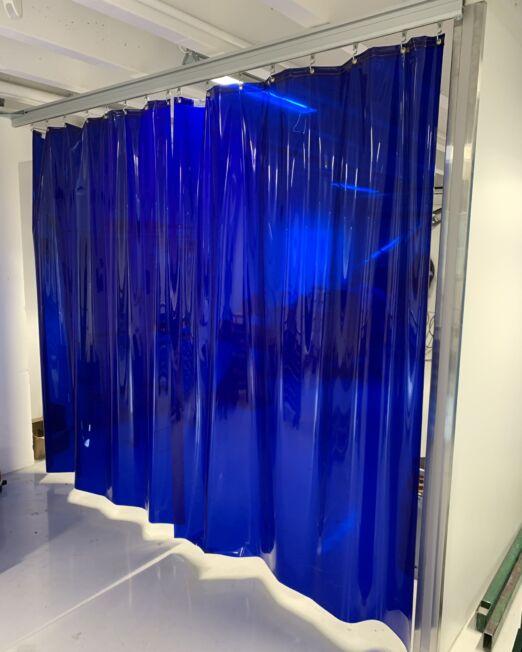 Zilento - sveisegardin - blå transparent